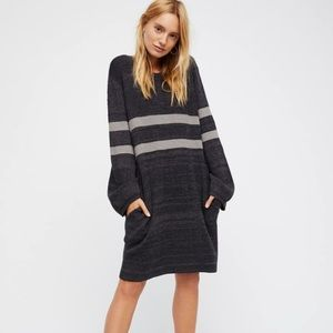 Free People On Your Team Mini Sweater Dress